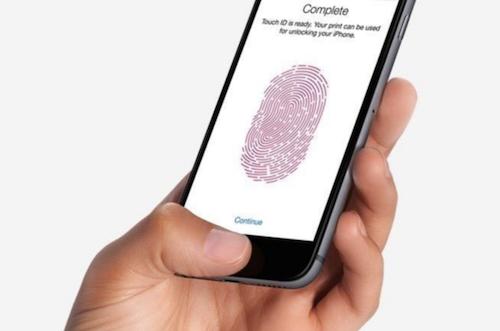 La fonction Touch ID initiale des iPhone Apple