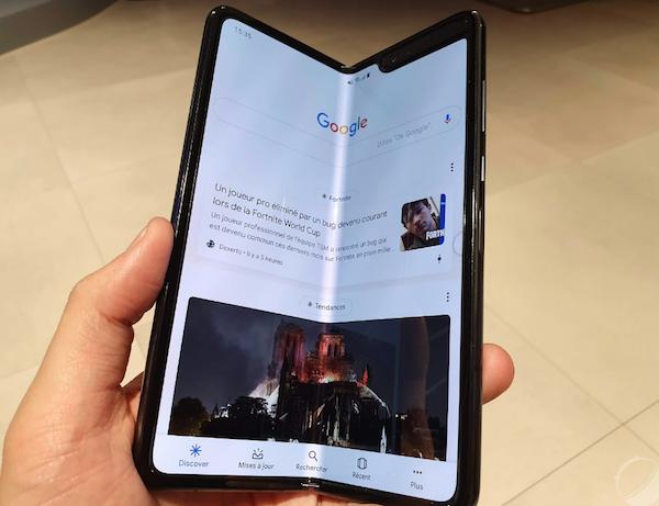 Samsung est parvenu à résoudre les problèmes de son Galaxy Fold