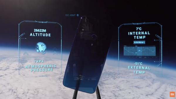 Pour se démarquer, Xiaomi a envoyé un smartphone dans l'espace