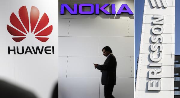Huawei en tête des équipementiers 5G