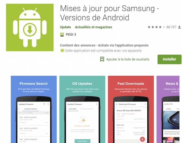 Une fausse application arnaque les utilisateurs de Samsung