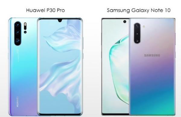 Samsung semble s'être inspiré de Huawei pour son prochain smartphone