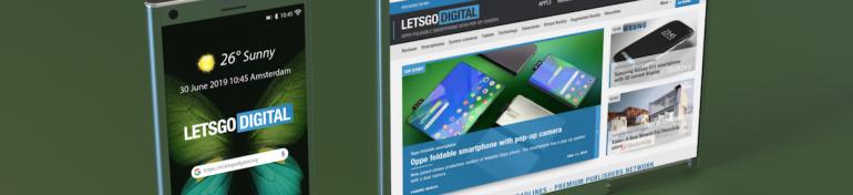 Samsung dépose un brevet pour un smartphone à écran extensible