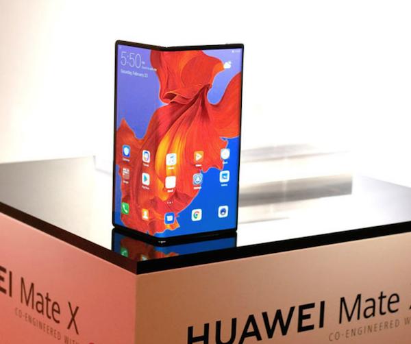 Le smartphone pliable de Huawei sera disponible sur le marché en septembre