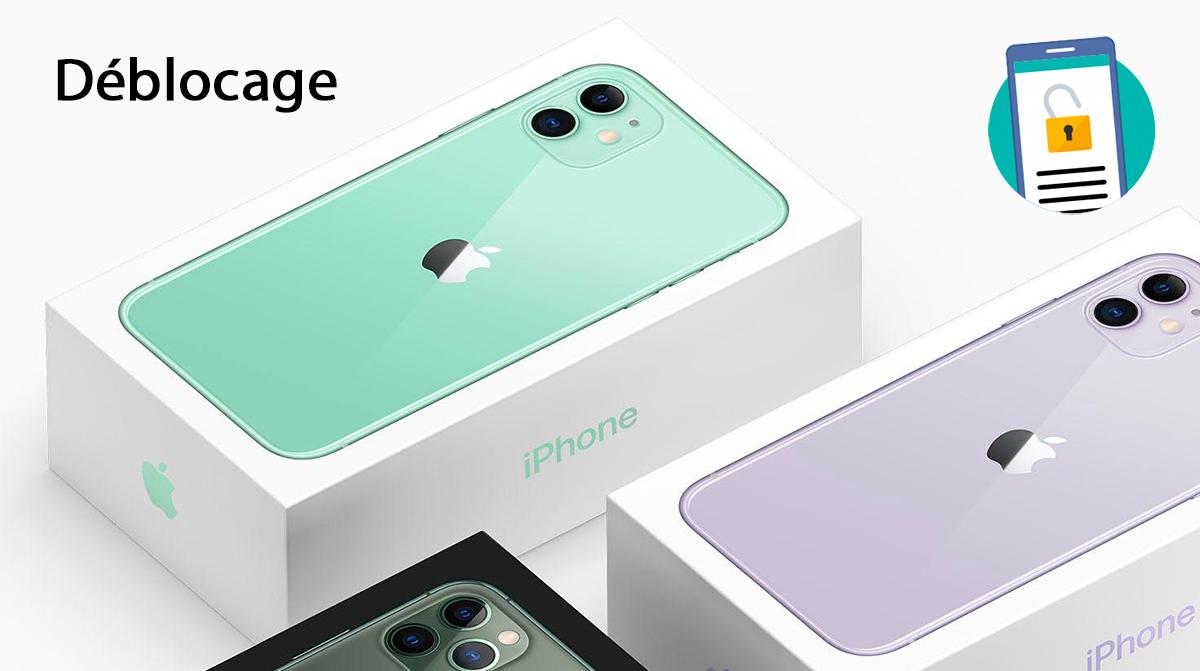 Comment Debloquer Son Iphone 11 Iphone 11 Pro Et Iphone 11 Pro Max