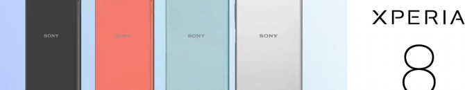 Le smartphone Xperia 8 étonne par son design à contre-courant des tendances