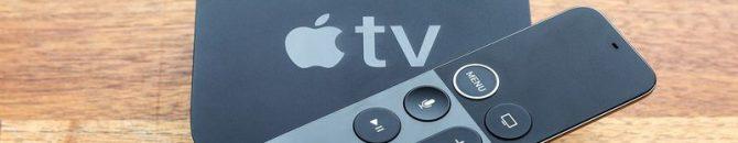 La box d'AppleTV sortie en 2017 proposer AppleTV+