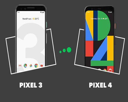 Comparaison entre les smartphones Pixel 3 et le Pixel 4 de Google