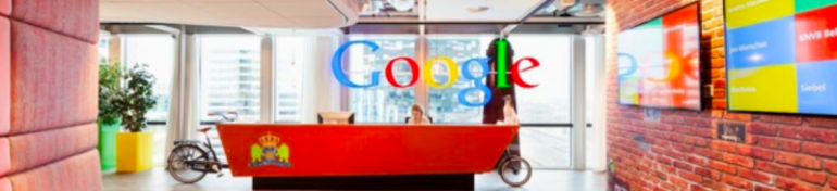 Les locaux de Google, le constructeur de Pixel 3.