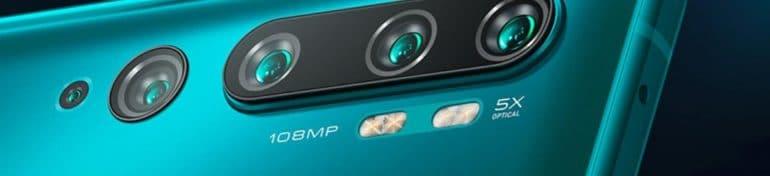 Xiaomi dévoile le Mi Note 10, un nouveau modèle de smartphone avec 108 mégapixels de capteur photo