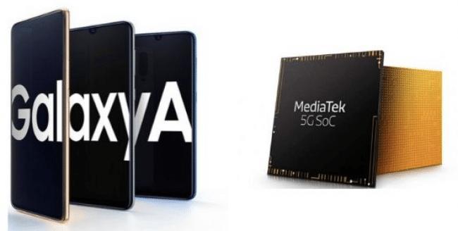 Certains Galaxy A seront compatibles en 5G