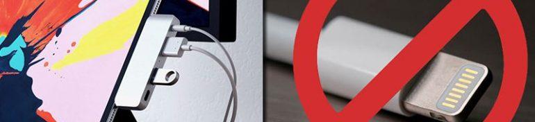Le futur des iPhone tourné vers l'absence de port lightning d'après Apple.