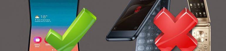 La nouveauté Samsung s'oriente vers le smartphone à clapet.