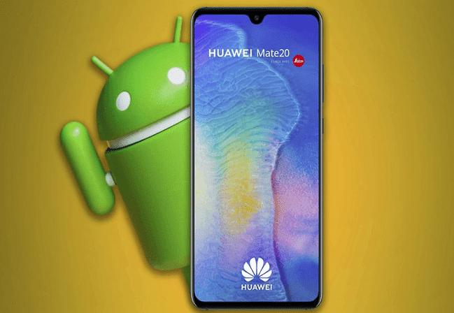 Android suspens ses activités avec les constructeurs chinois