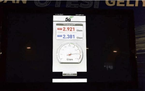 Le Mate X 20 d'Huawei affiche un débit descendant de 2,381 GB/s
