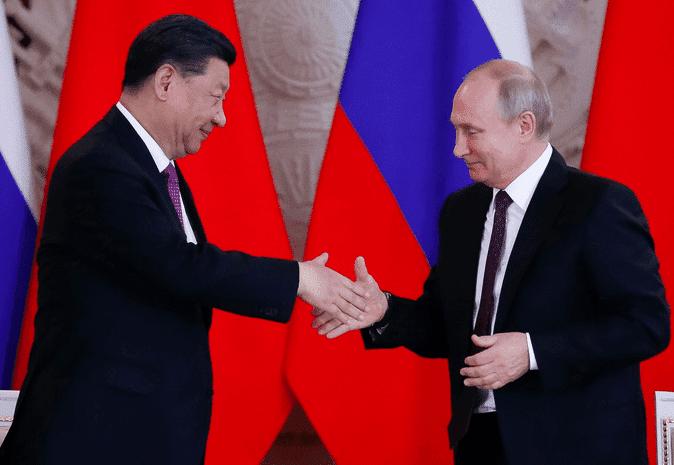 Xi Jinping rencontre Vladimir Poutine
