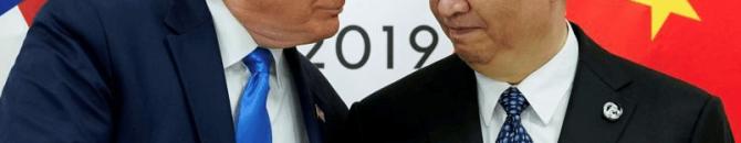 Xi Jinping et Donald Trump, la guerre est déclarée.