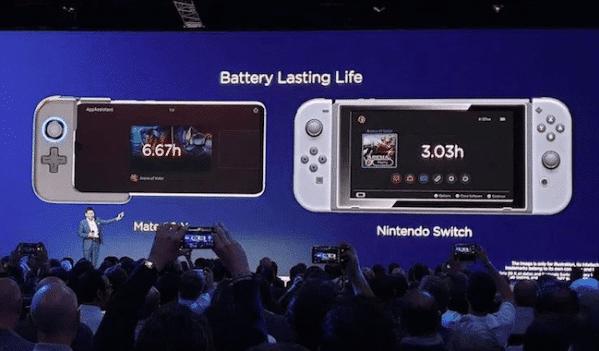Le Huawei mate X 20 se veut un portable axé gaming d'où la nécessité d'un gros débit de connexion.