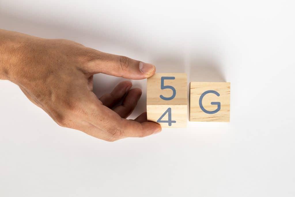 Passer de 4G à 5G.