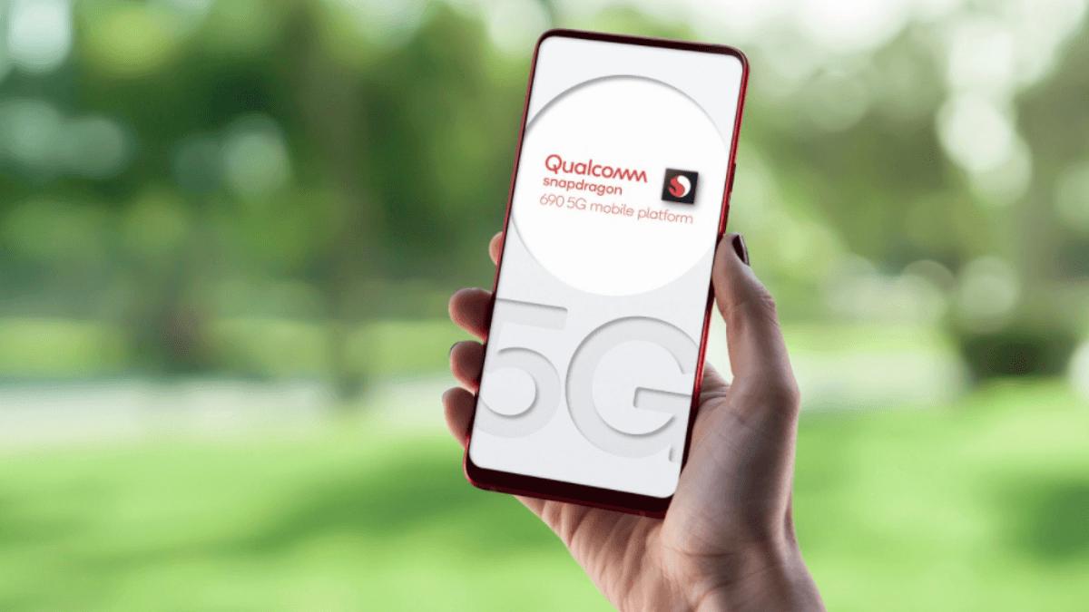 La puce snapdragon 690 de Qualcomm est nécessaire pour accepter la technologie de la 5G.