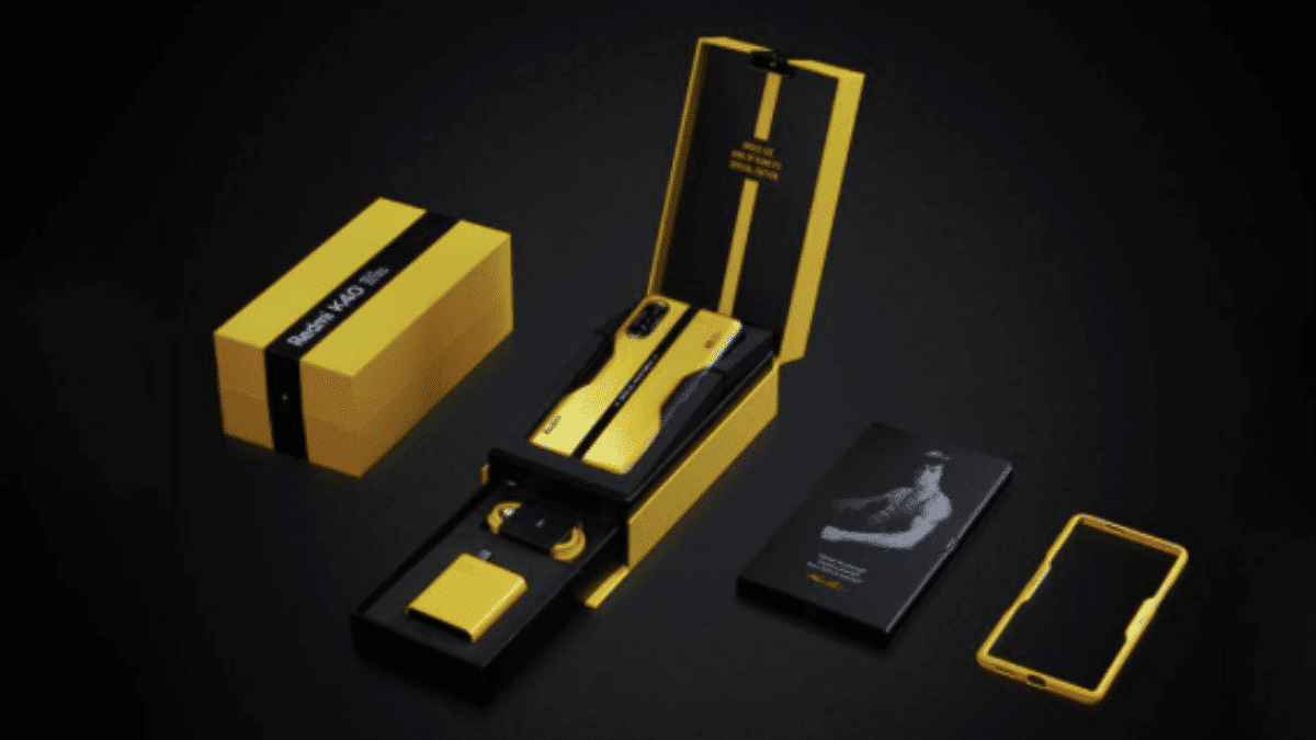 xiaomi 40k gaming bruce lee edition
