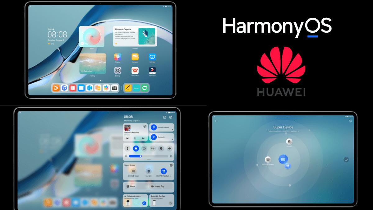 huawei lancement harmonyos